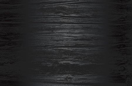 Luxury black metal gradient background with distressed wooden parquet texture. Vector illustration Archivio Fotografico