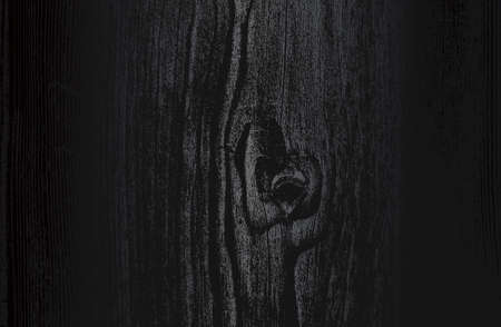 Luxury black metal gradient background with distressed wooden parquet texture. Vector illustration Archivio Fotografico - 161345031