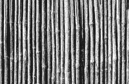Distressed overlay bamboo
