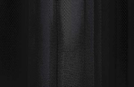 Luxury black metal gradient background with distressed metal plate texture. Archivio Fotografico - 166238050