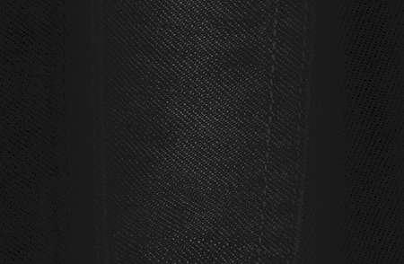 Luxury black metal gradient background with distressed fabric, textile texture. Vector illustration Standard-Bild