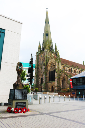 Birmingham England  St Martins church