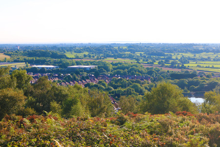 Lickey Hills Birmingham view Stock Photo