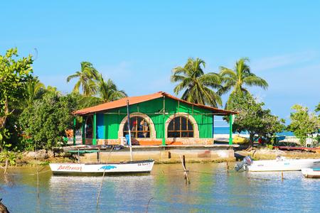 Cuba Holguin boat summer house