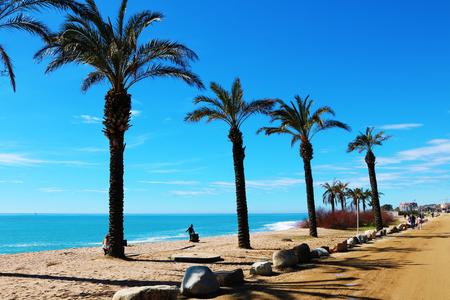 The beach Spain