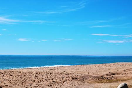 Spain beach pine de mar beach