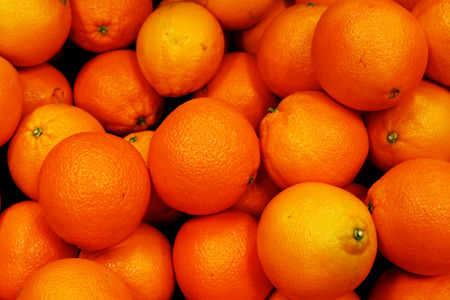 Spanish oranges Stock Photo
