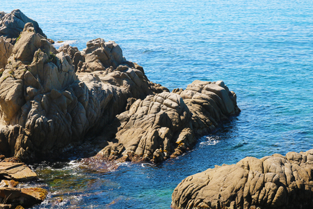 Rocks and water in spain