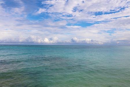 cuba guardalavaca open sea Stock Photo