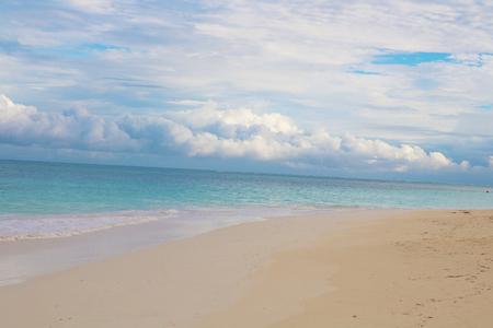 cuba guardalavaca beach and clouds