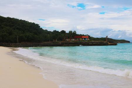Cuba beach coastline