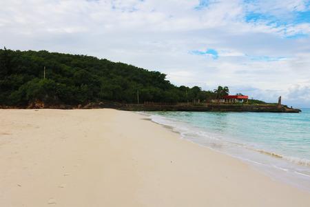 Cuba Holguin beach Stock Photo