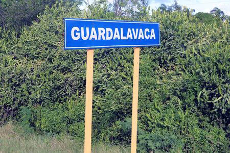 Cuba Guardalava sign Stock Photo