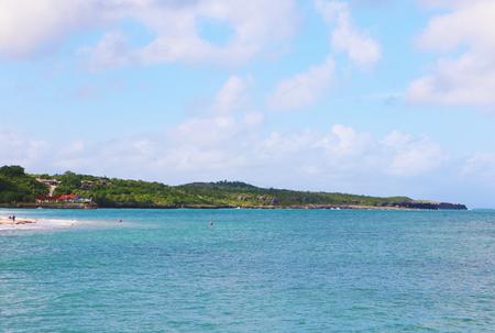 Cuba coast line