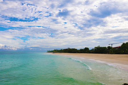 Cuba beach coast line Stock Photo