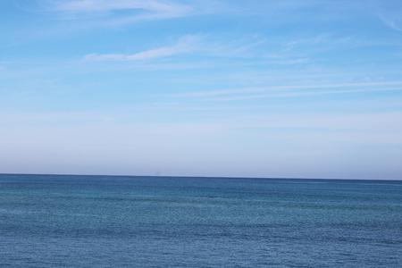 Cuba blue ocean Stock Photo