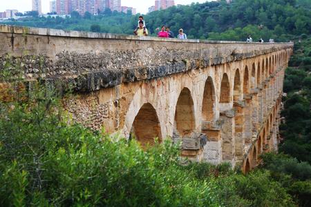 Tarragona old roman bridge