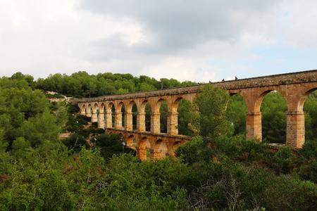 tarrgona bridge from the distance