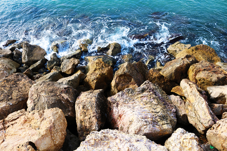 Rocks by the sea