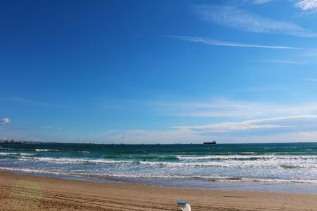 Spain beach Stock Photo