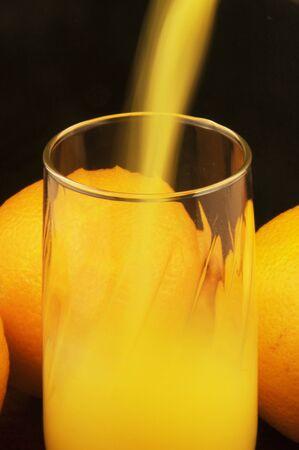 Orange Pour