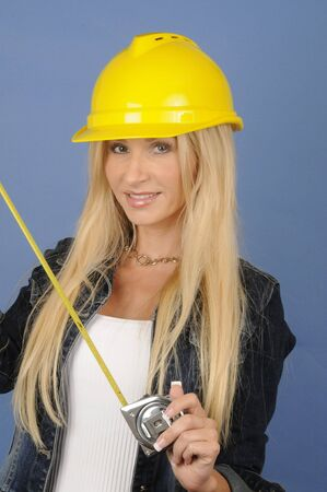 skilled: Woman in Construction
