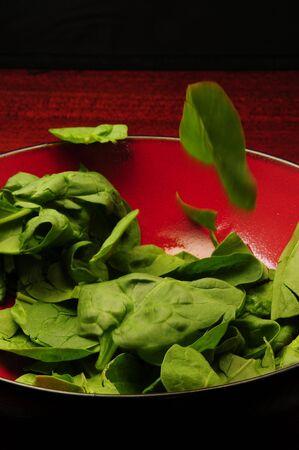 toss: Salad Toss Stock Photo