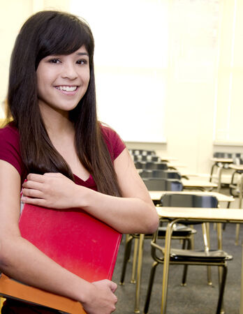 Asian Student in classroom