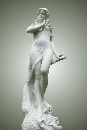 diosa griega: Estatua de MUSE - Terpsícore Foto de archivo