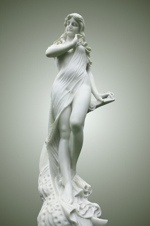 Muse statue - Terpsichore photo