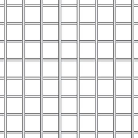 Prison metal bars vector illustration 向量圖像
