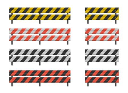 Road guardrail, highway steel barrier