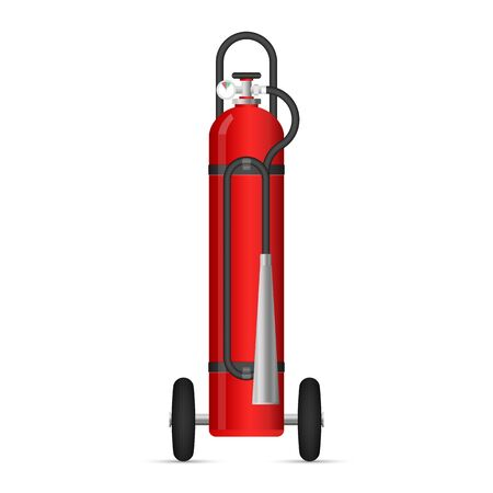Fire extinguishers vector illustration isolated on white background