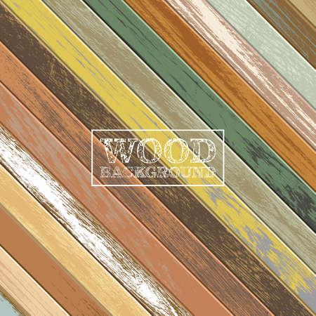 Vintage wooden background with old and faded colors Foto de archivo - 155065394