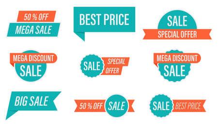 Special offer sale tag vector illustration