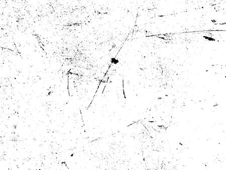Rusty and scratched iron texture. Rust and dirt overlay black and white texture.