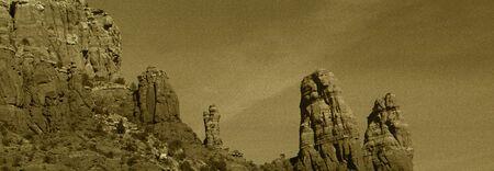 arizona landscape: Canyons in Sedona Arizona landscape