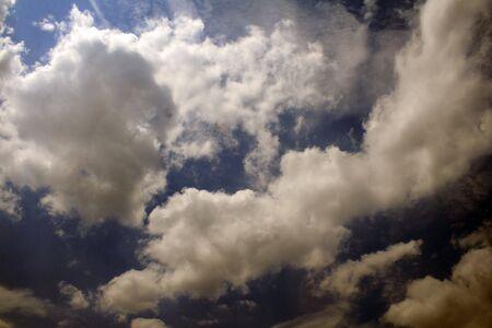 Dramatic cloudscape at dusk Stock fotó