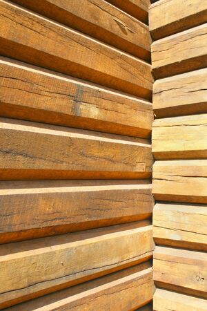 Detail of wood planks