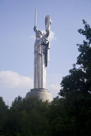 Mother Homeland statue in Kiev Ukraine Stock Photo - 3934515