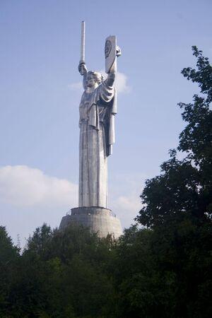 Mother Homeland statue in Kiev Ukraine Stock Photo - 3934515