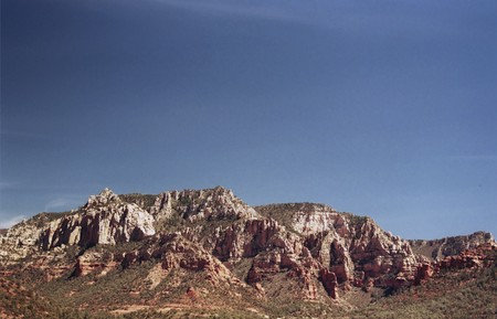 geological formation: Geological formation outside of Sedona Arizona American southwest