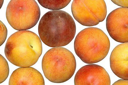 Peahces, Fruit Stock Photo