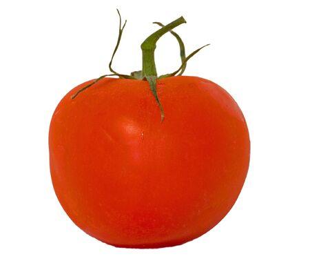overwhite: Tomato over-white Stock Photo