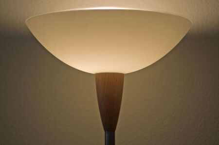 Lamp switched on