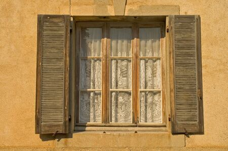 Window with old shutters Stock Photo - 3426445