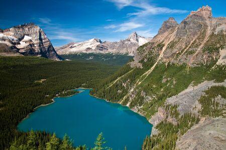 Lake O'Hara, Yoho National Park, British Columbia, Canada Stock Photo