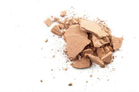 powder on the white background;  Stock Photo