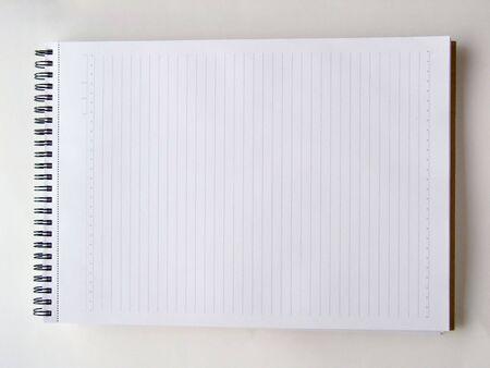 Blank Spiral Notepad