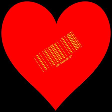 Stylized Heart for sale